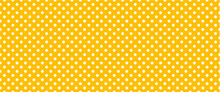 Orange, Polka Dot Jersey Pattern. Pois, Polka Dots Memphis Style. Flat Vector Seamless Dotted Pattern. Vintage, Abstract Geometric Wallpaper Or Banner. Christmas ( Xmas ). Point, Round Signs.