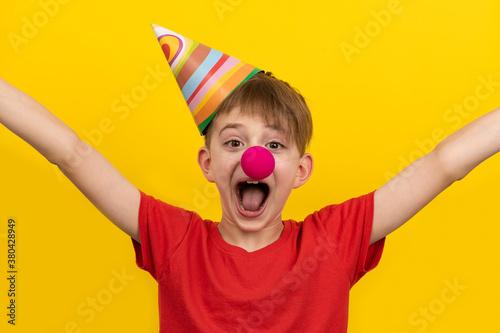 Let's celebrate! April fools day Fotobehang
