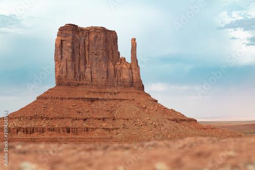 Obraz monument valley usa rock sandstone - fototapety do salonu