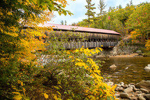 Albany Covered Bridge, White Mountain National Forest, Just West Of Conway And Albany, New Hampshire