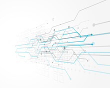 Abstract Technology Concept De...