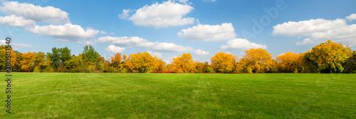 Valokuva Autumn scenes under sunny day