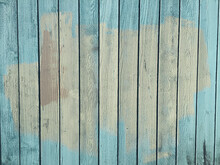 Paint Covering Graffiti Markings On Urban Fence