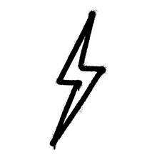 Graffiti Spray Electric Lightn...