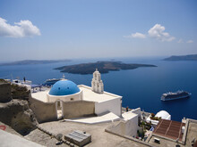 Santorini Is One Of The Cyclad...