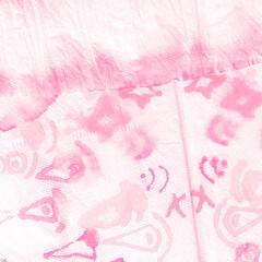 Romantic Dirty Art Grunge. Soft Tie Dye. Pink