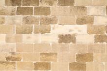 Muro Con Mattoni Di Pietra Lec...