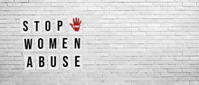 Stop Women Abuse Poster Concep...