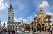 Ghent, Belgium: View On Belfor...