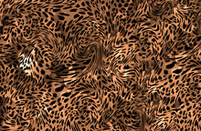 Abstract Leopard Print Texture...