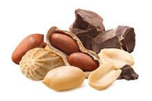 Peanuts And Dark Chocolate Chu...