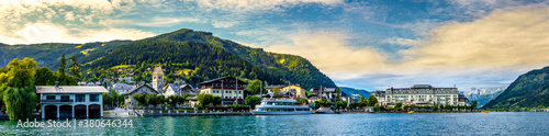 famous village Zell am See in Austria