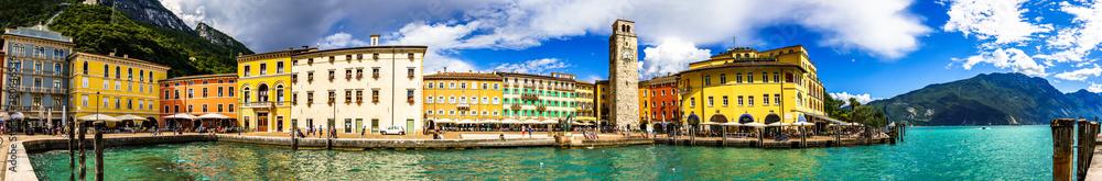 Fototapeta Garda lake - Riva del Garda