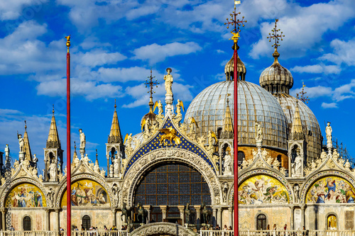 historic buildings in Venice - Italy - San Marco square