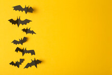 Halloween Background. Black Ba...