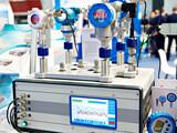 Fototapeta Kawa jest smaczna - Automatic pressure calibrator at exhibition