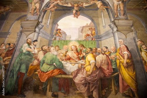 Obraz na plátně Italia, Toscana, Firenze, Chiesa di Santo Spirito