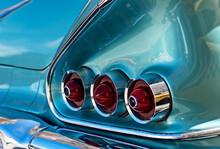 Classic Old Car In Cuba