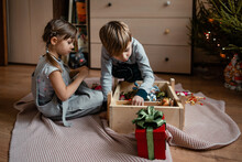 Children Decorate The Room For...