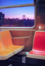 New York Subway At Dusk