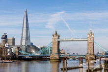 Cityscape With Tower Bridge In London