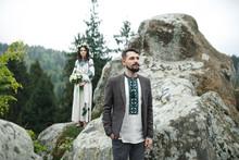 Photo Of Happy Wedding Couple.