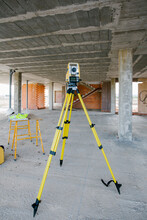Total Station At Construction ...