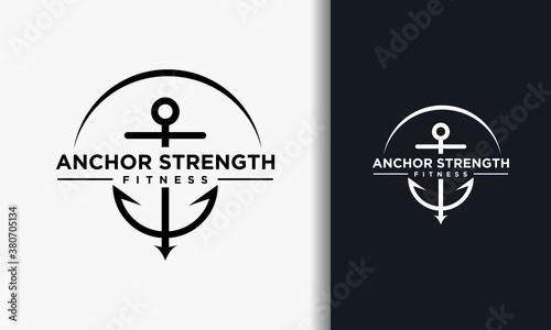 Foto minimal anchor logo