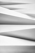 Contemporary White Paper Sculp...