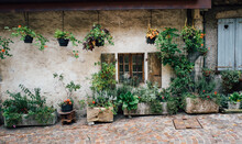 Exterior Of Village House In T...