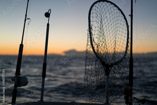 Fishing Rods on a boat