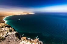 Vista A La Playa Famara Desde ...