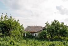 Derelict Shack In Rural Romania
