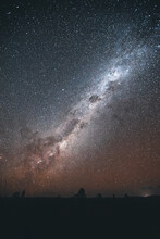 Milky Way Above The Red Center