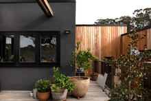 Elevated Courtyard With Materi...