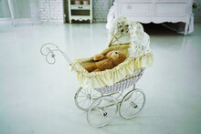 Baby Toy Stroller With Teddy B...