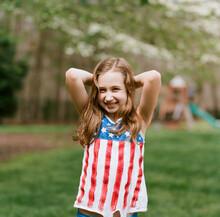 Beautiful Young Girl Wearing A...