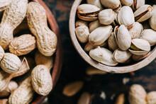 Closeup Of Various Nuts