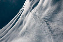 Ice, Eroded By Sun And Wind