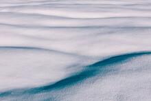 Snow Shaped Like Human Body Pa...