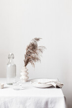 Still Life With Dried Grass, C...