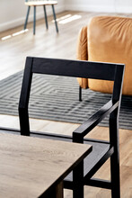 Modern Wooden Bench And Table,