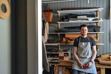 Portrait Of A Craftsman Workin...
