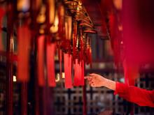 Prayer Lanterns In Man Mo Temp...