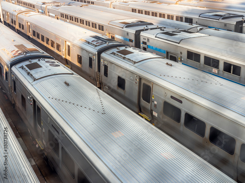 New York Subway Trains - 380738726