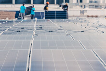 Contemporary Solar Panels Inst...