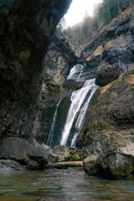 Small Waterfall Cascade Stream...