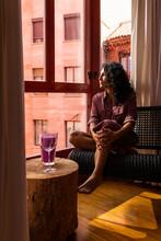 Ethnic Thoughtful Latin Woman ...