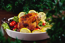 Appetizing Baked Chicken With ...