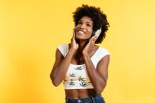 Glad African American Female S...